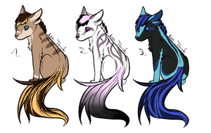 CLOSED - Critters Adoptables 276 by LeaAdoptables