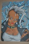 Storm Art Card by FlyingSpiderGirl