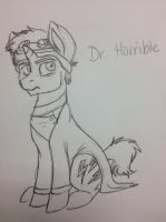 Dr. Horrible as a Pony by KaleidoscopeHeavens