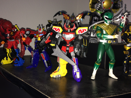 Power Rangers Toy Collection 031: Megazord by AnutDraws