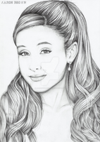 Ariana Grande by AaronAZZAbrown