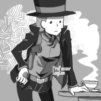Professor Layton Graffiti 43 by khrssc