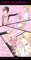 Shizaya Valentine Day by xKirara