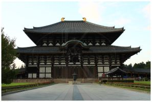 Todai-ji Temple by K-Tak
