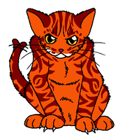 Male tabby adoptable by Adoptablegirl