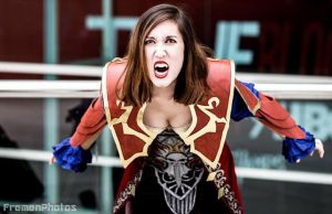 Castlevania Lords of Shadow 2 Cosplay Have At You! by CarolineKnight
