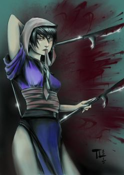 Makie from Blade of the Immortal by MeaT-Artworx