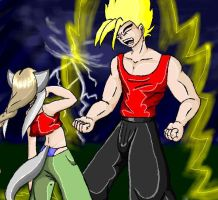 safire fight by andril