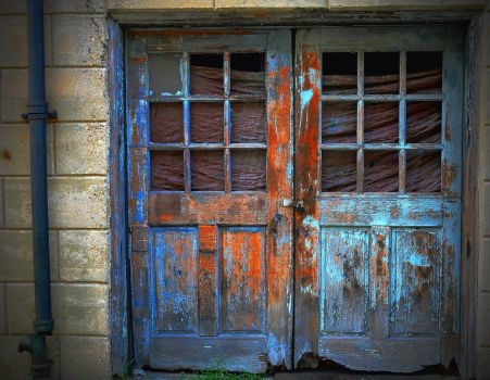 Double Doors At Eastern State Penitentiary by PAlisauskas