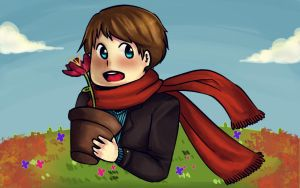 Flower Boy by ninz-c