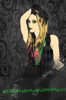 Avril Lavigne by ElysPunkDawn