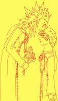 AkuRoku - My valentine by fanfiction-fanatic