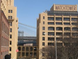 new york along the watchtower by VIRGILE3MBRUNOZZI