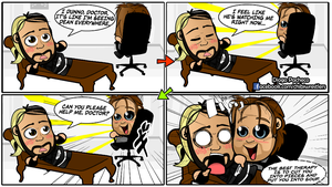 Seth Rollins and Dean Ambrose - WWE Comic Strip 07 by kapaeme