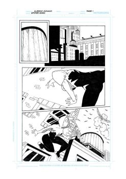 Spider-Gwen's proof pages - 01 by AleMonaco