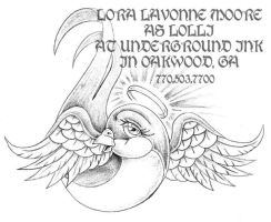 angel pretty sparrow by lavonne