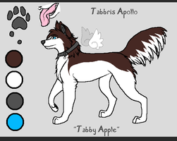 Tabby Apple - Wolf Form by touchofdestiny