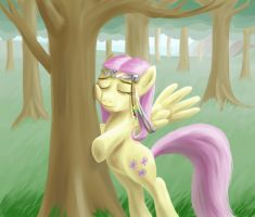 I'd Like to Hug a Tree by Ponytron5000
