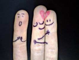 finger love by 1Honey1