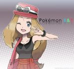 Pokemon XY Serena by JadeLaunders