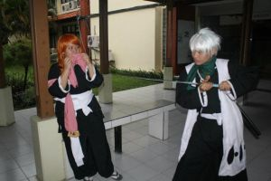 bleach cosplay : rangiku, you pisssed me off! xD by faisaluzumaki