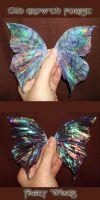 Old Growth Forest Faery Wings by S0WIL0