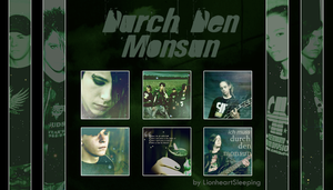 Durch Den Monsun Icon Set by LionheartSleeping