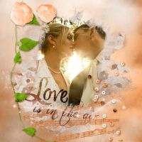 Love is in the air by Rollinchen