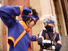Obito vs Kakashi by ToraCosplayers