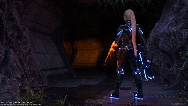 Irisa-cosplay-mass-effect-n7-003b by Clare3Dx