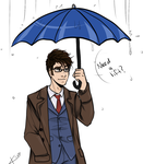 10th doctor by gryphonslade