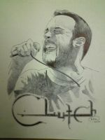 Neil Fallon of Clutch by opeyuvadown