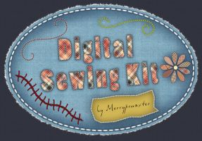 Digital Sewing Kit by merrypranxter