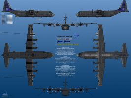 Lockheed EC-130J-30 Radar Hunter USMC by haryopanji