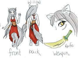 Willow OC by tedres