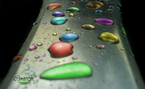 Coloured Drops by Corteks