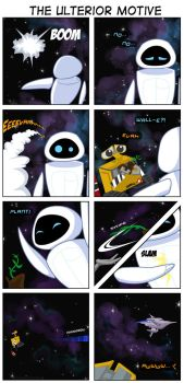 WALL-E: The Ulterior Motive by gryphonworks