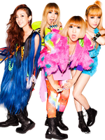 2ne1 Render by classicluv
