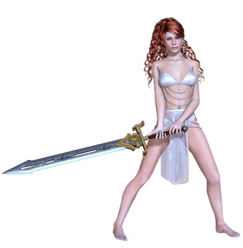 Female 01 PNG Stock by Roy3D