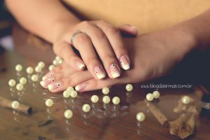 Flower, nail art, photography by Micheloko