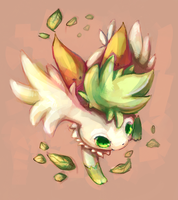 Shaymin -collab- by salanchu