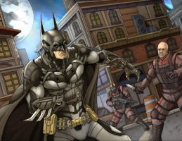Batman Arkham Knight by Daniel-Jeffries