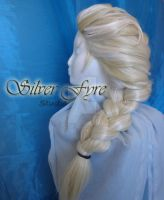 Elsa From Frozen Wig commission by Silver-Fyre