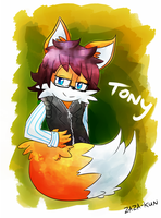 Req - Tony the Fox by zazaKUN011