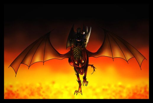 Death Rides A Dragon by Sphynxette