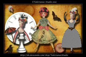 Whimsical Paperdolls 2 by ValerianaSolaris
