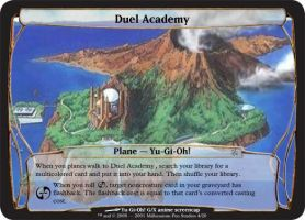 M:tG Planechase - Duel Academy by Ari22682