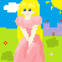Pixel Princess by Candlefire29