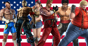 Tekken 6 US Fighters by meteora090