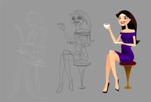 vector illustration steps 1 by scorpy-roy